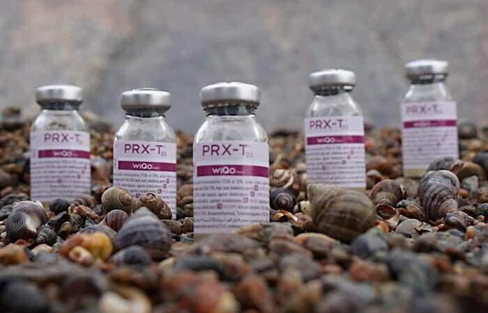 PRX-T33 vials