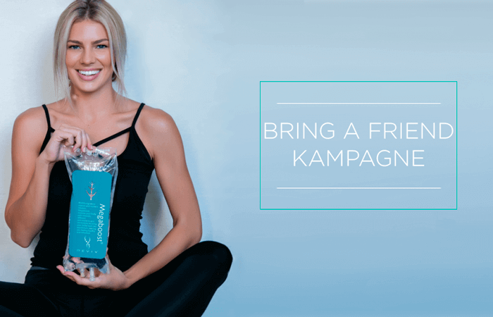 Bring a friend kampagne – Få 50% på vitaminindsprøjtninger!